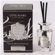 Cote Noire - French Morning Tea Diffuser w/Silver Crest 90ml
