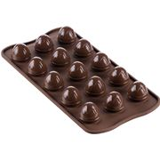 Silikomart - 3D Choco Drop Silicone Mould Brown