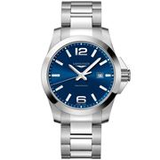 Longines - Conquest Blue Dial Stainless Steel Watch 43mm