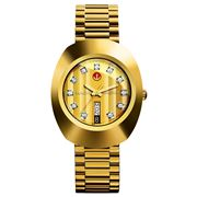 Rado - The Original Automatic Yellow Gold Watch 35mm