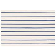 Hester & Cook - Placemats Stripes Navy Set 24pce