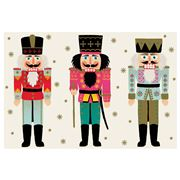Hester & Cook - Placemats Nutcrackers Set 24pce