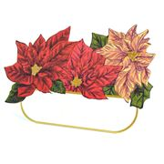 Hester & Cook - Poinsettia Place Cards