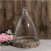 Florabelle - Figi Glass Cloche Clear Small