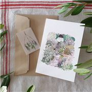 Olive and The Larder - Garden Greeting Card