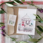 Olive and The Larder - House Greeting Card