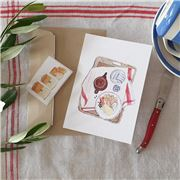 Olive and The Larder - Tray Greeting Card