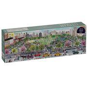 Galison - Michael Storrings Panoramic Puzzle 1000p Cityscape