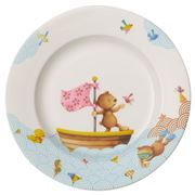 V&B - Happy As A Bear Children Flat Plate 22x2.6x22cm
