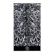 Roberto Cavalli - Linx Bath Sheet Black 95x180cm