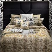 Roberto Cavalli - Tiger Frame Duvet Cover Gold Set 4pce
