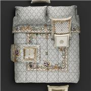 Roberto Cavalli - New Spider Duvet Cover Set Grey 4pce