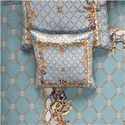 Roberto Cavalli - New Spider Silk Cushion Light Blue 40x40cm