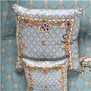 Roberto Cavalli - New Spider Silk Cushion Light Blue 60x60cm