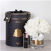 Cote Noire - Grand Rose Bouquet Ivory White w/Sprays Blk Box