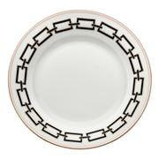 Richard Ginori - Catene Flat Dessert Plate Nero 28cm