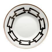 Richard Ginori - Catene Coffee Saucer Nero 11cm