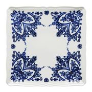 Richard Ginori - Babele Squared Flat Plate Blue 18cm