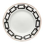 Richard Ginori - Catene Flat Bread Plate Nero 16cm