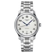 Longines - Master Collection Silv. Dial S/Steel Watch 38.5mm