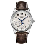 Longines - Master Collection Arabic Moon Phase Leather 40mm