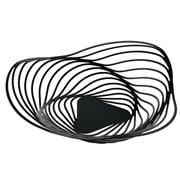 Alessi - Trinity Fruit Bowl Large Black