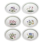 Portmeirion - Botanic Garden Low Bowl Set 6pce