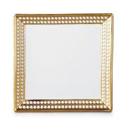 L'objet - Perlée Square Tray Gold 20x20cm