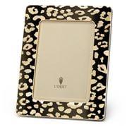 L'objet - Leopard Plated Frame Gold 20x25cm