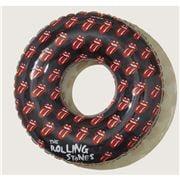 SunnyLife -  Rolling Stones Pool Ring Hot Lips Black