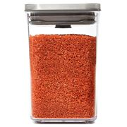 OXO - Pop 2.0 Steel Container Small Square Short 1L