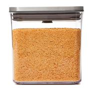 OXO - Pop 2.0 Steel Container Small Square Short 2.6L
