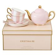 Cristina Re - Signature Blush Tea Set For 2 5pce