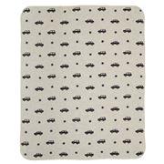 David Fussenegger - Juwel Bassinet Blanket Autos Grey