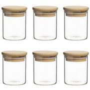 Ecology - Pantry Spice Jar 200ml Set 6pce