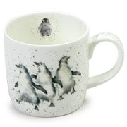 Royal Worcester - Wrendale Designs On The Town Penguin Mug