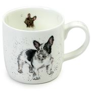 Royal Worcester - Wrendale Designs French Bull Dog Mug
