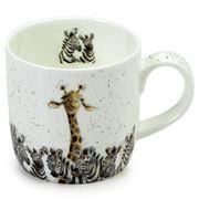 Royal Worcester - Wrendale Designs Zebra & Giraffe Mug