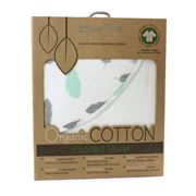Bubba Blue - New Organic Feathers Hooded Towel