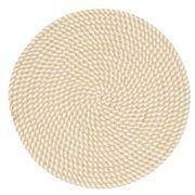 Amalfi - Hudson Placemat White/Natural 35cm