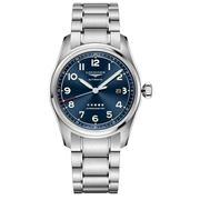 Longines - Spirit S/Steel Blue Dial w/Arabic Num. Watch 42mm