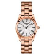 Tissot - T-Wave Quartz Rose Gold PVD MOP Dial Watch 30mm