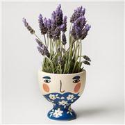 Jones & Co - Albert Vase Blue