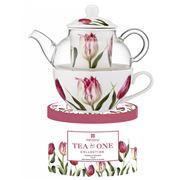 Ashdene - Floral Symphony Tulip Tea For One