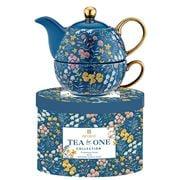 Ashdene - Flowering Fields Tea For One Blue