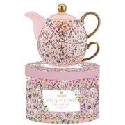 Ashdene - Flowering Fields Tea For One Pink