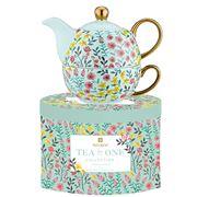Ashdene - Flowering Fields Tea For One Teal