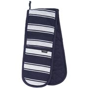 Ladelle - Butcher Stripe Series II Double Oven Mitt Navy