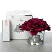 Cote Noire - Five Rose Carmine Red w/Silver Crest