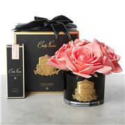 Cote Noire - Five Rose Peach Black Glass